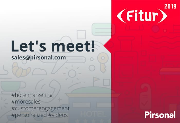 Pirsonal will be attending Fitur 2019
